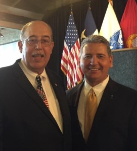 Retired Lt. General Honore with Ed Cantu